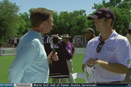 On the Range with Kevin Streelman