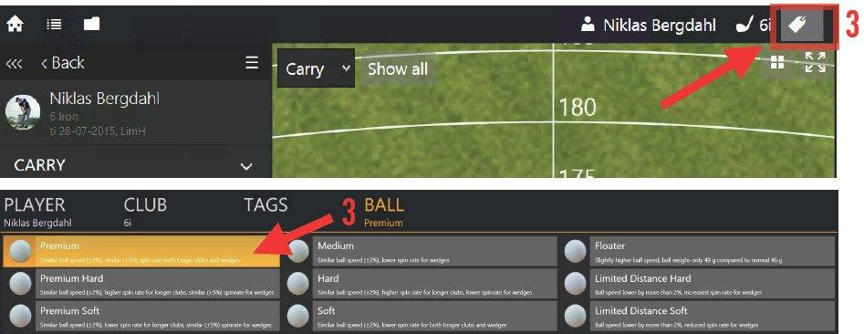 Change the ball type to Premium ball