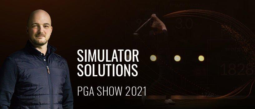 TrackMan Simulator Solutions – The Virtual PGA Show 2021